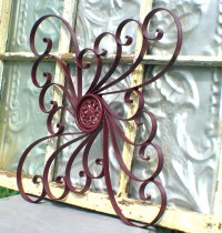 2018 Latest Outdoor Wrought Iron Wall Art