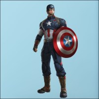 The Best Captain America 3D Wall Art