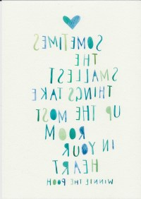 15 Best Collection of Winnie The Pooh Nursery Quotes Wall Art