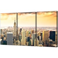 Best 15+ of New York City Canvas Wall Art