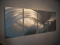 15 Best Ideas of Aluminum Abstract Wall Art