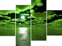 The Best Lime Green Metal Wall Art