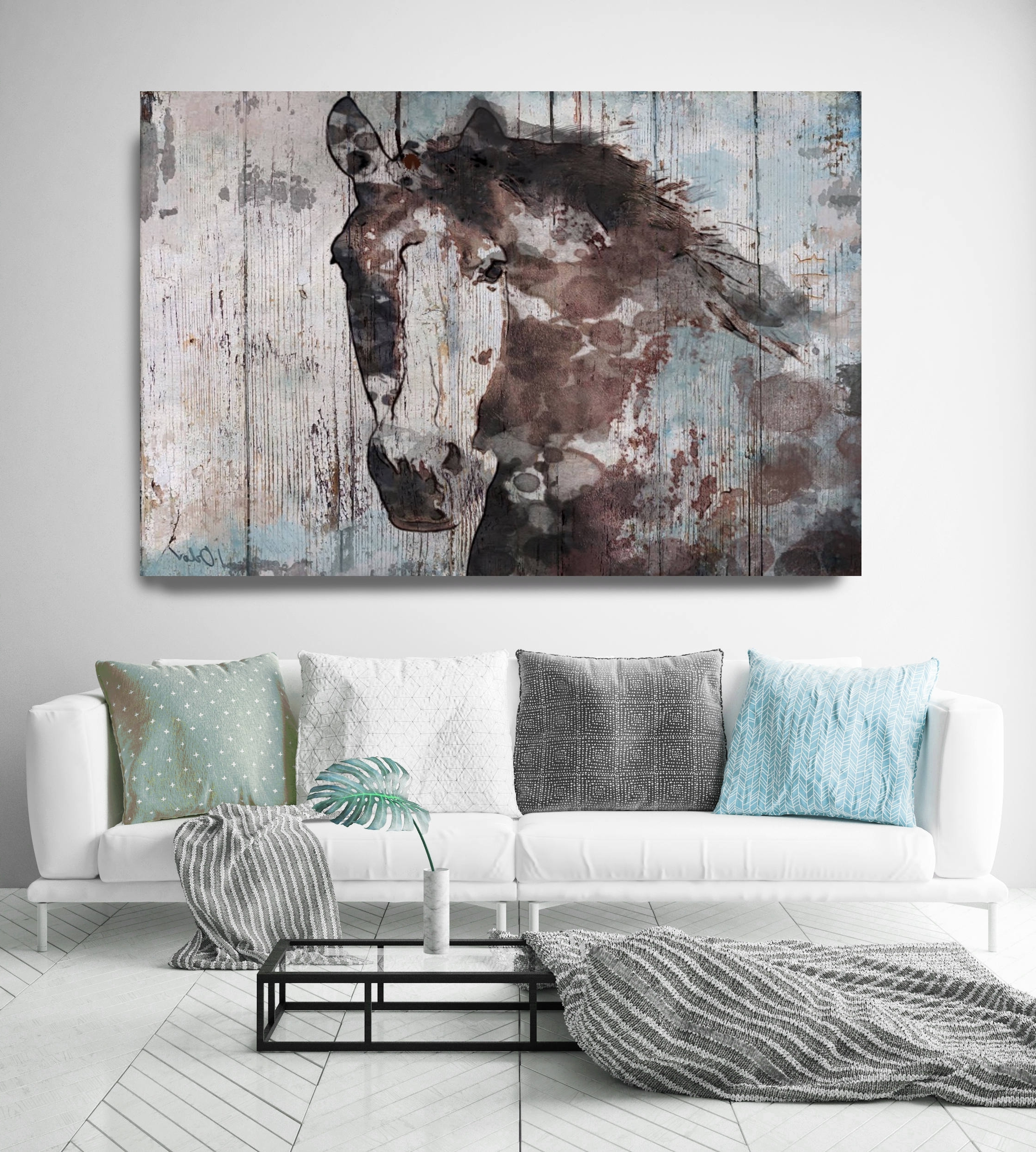 Relaxing Kitchen Wall Art Sculptures Wall Art Widely Used Large Wall Art Within Wild Blue Extra Image Gallery Large Wall Art art Unique Wall Art
