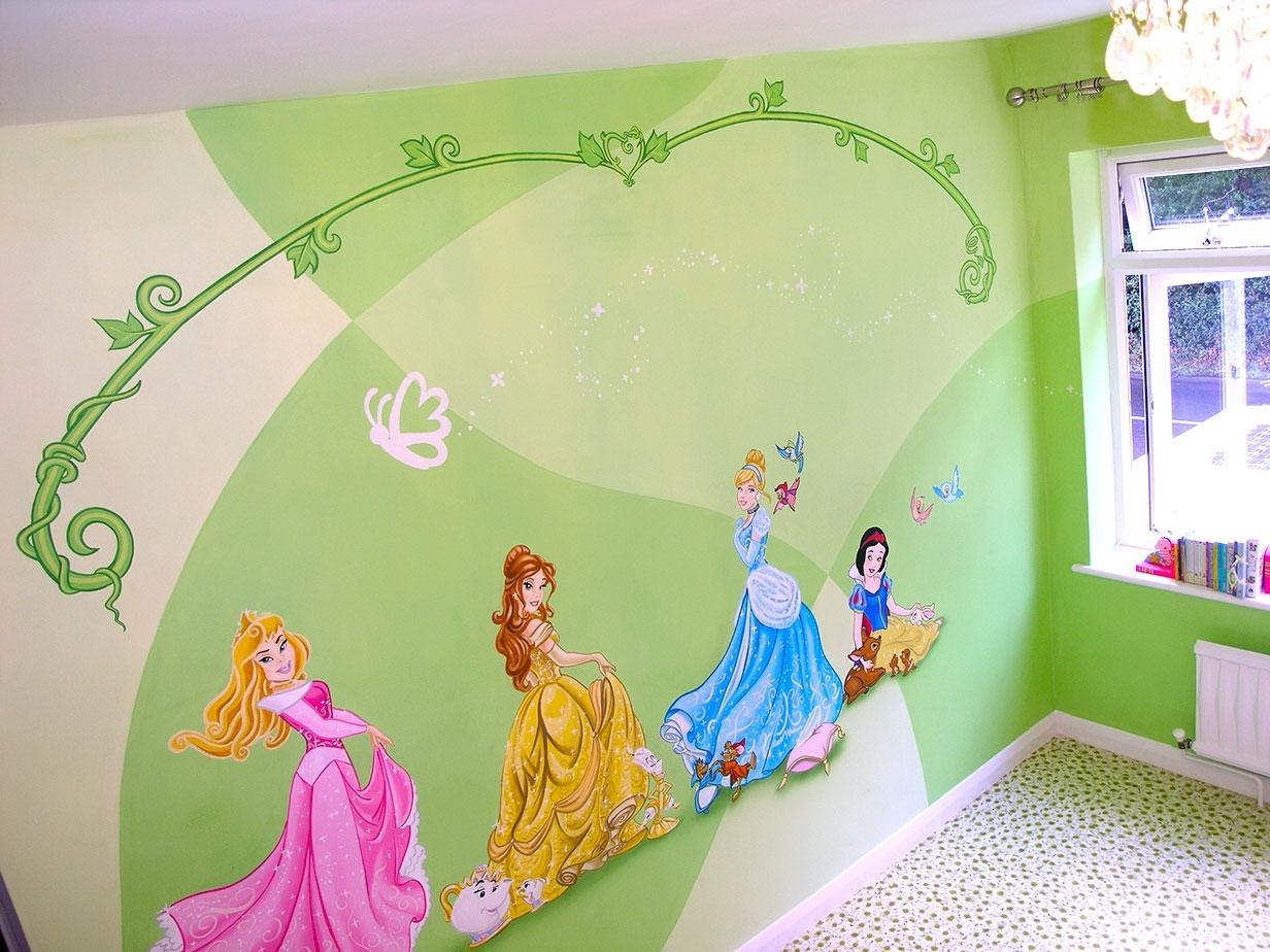Disney Castle Wall Decal - Elitflat