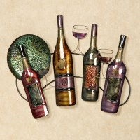 15 Collection of Wine Metal Wall Art