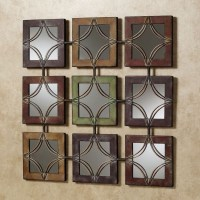 15 Collection of Mirror Sets Wall Accents