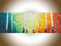15 Best Collection of Rainbow Canvas Wall Art