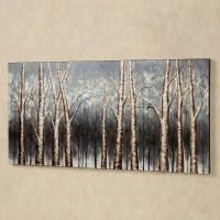 2018 Best of Birch Trees Canvas Wall Art