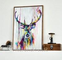 15 Inspirations of Deer Canvas Wall Art