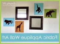 15 Ideas of Fabric Applique Wall Art