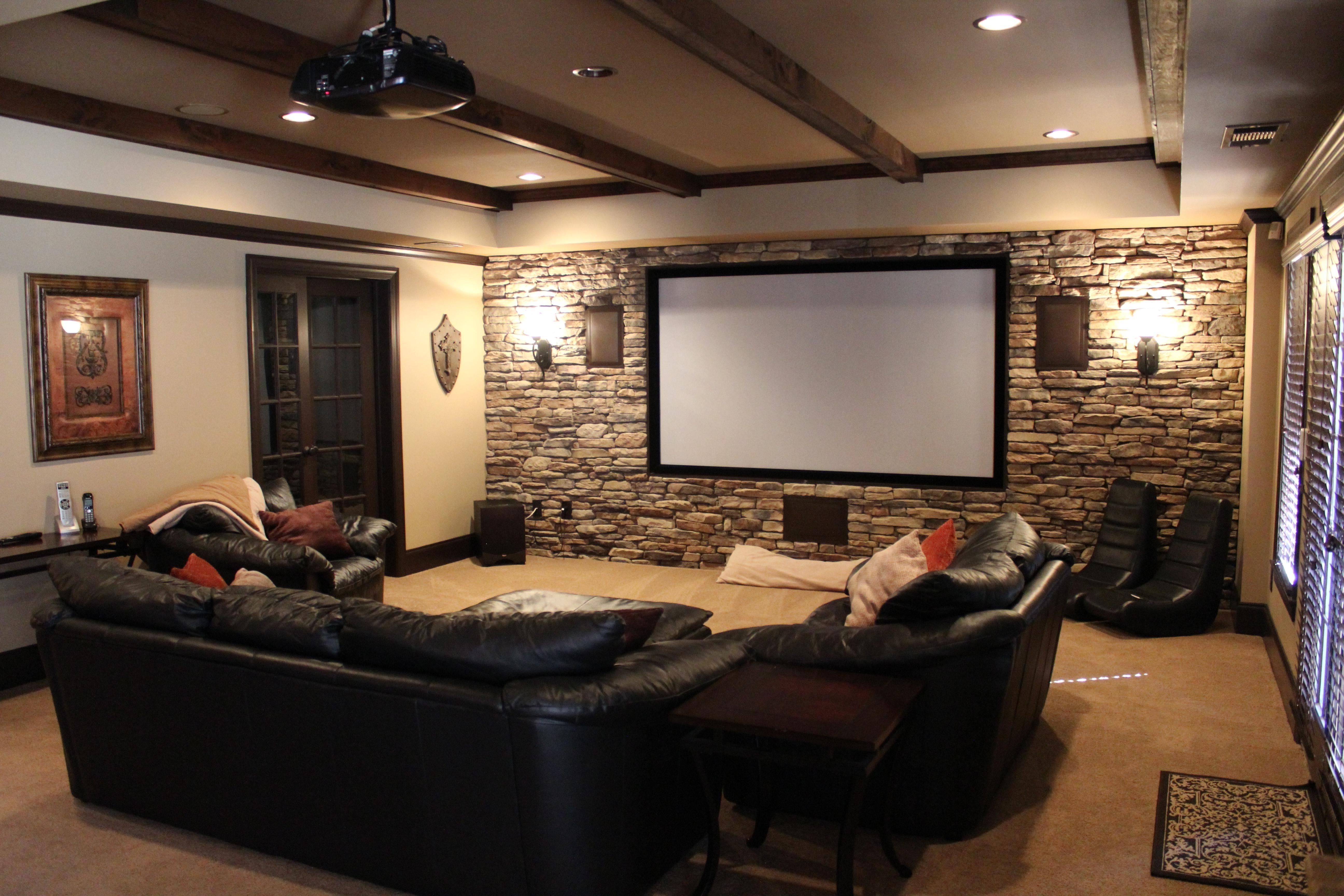 15 Best Ideas of Wall Accents For Media Room