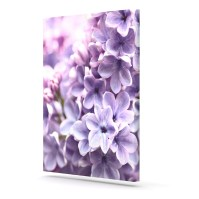15 Collection of Purple Flowers Canvas Wall Art