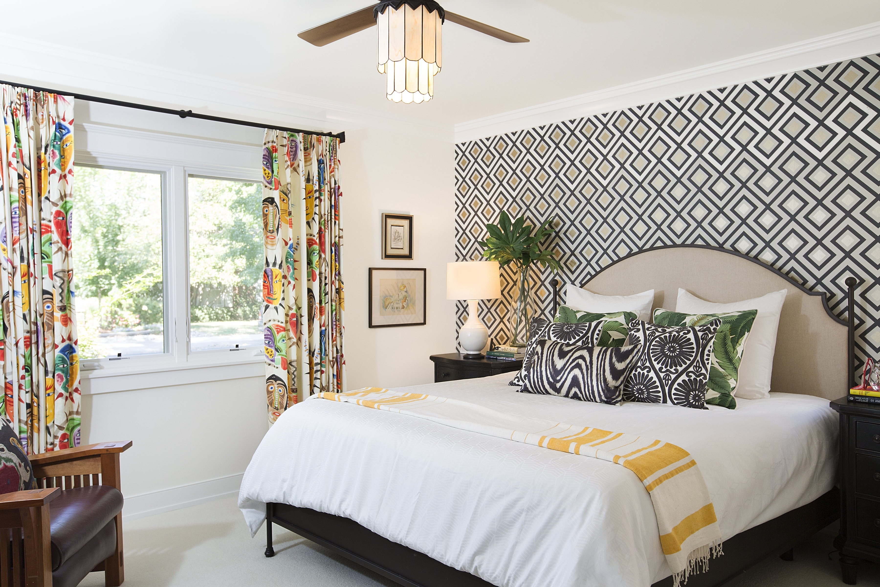 Wallpaper Accent Wall Bedroom - Ronniebrownlifesystems