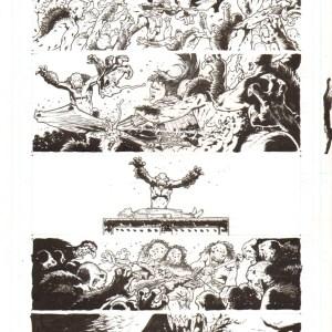Andrei Bressan � Birthright 11p17 Comic Art