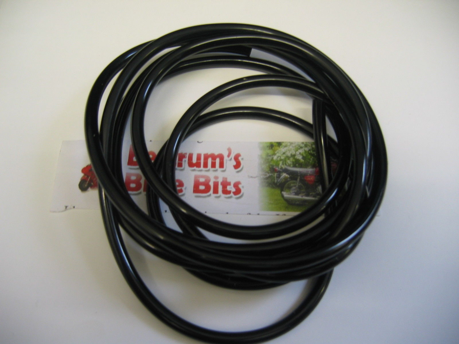 BLACK PETROL FUEL OIL OVERFLOW CARB PIPE for 3MM  4MM