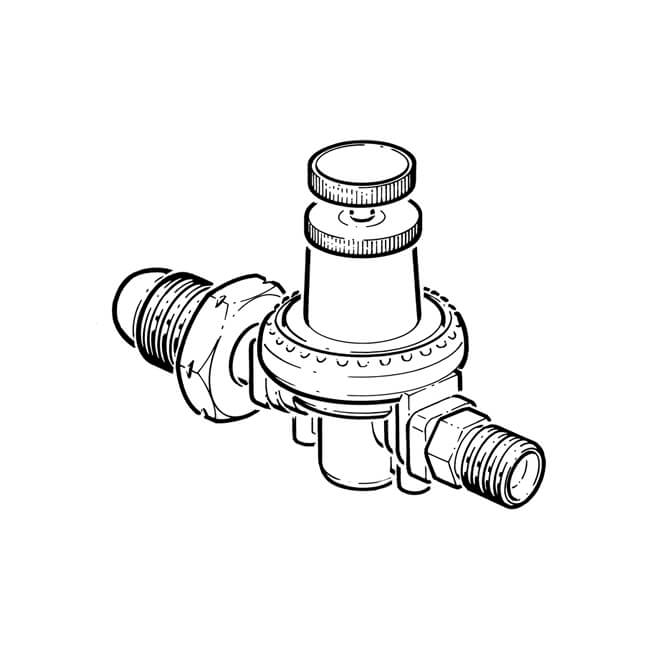 inline fuel filter with return