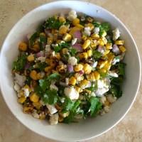 Mexican Street Style Corn Salad