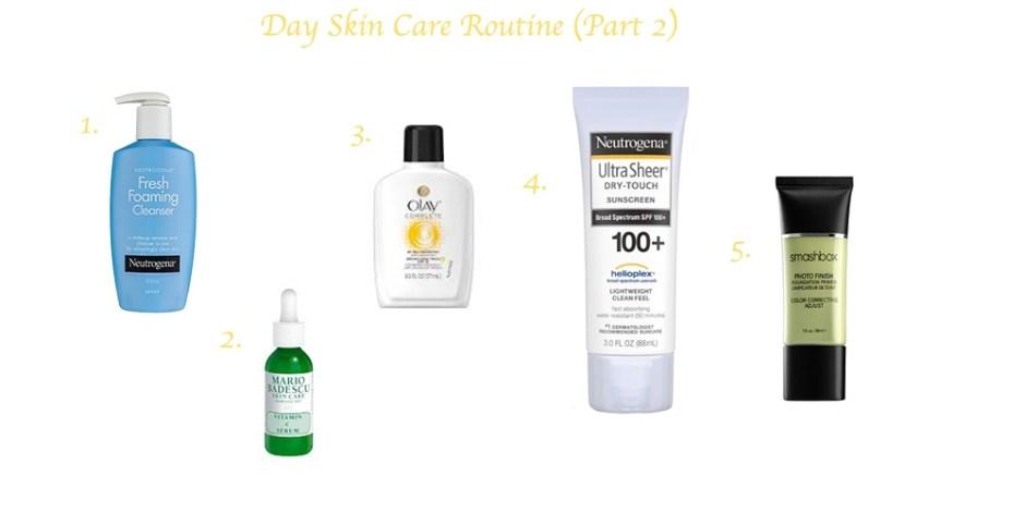 am skincare routine 2