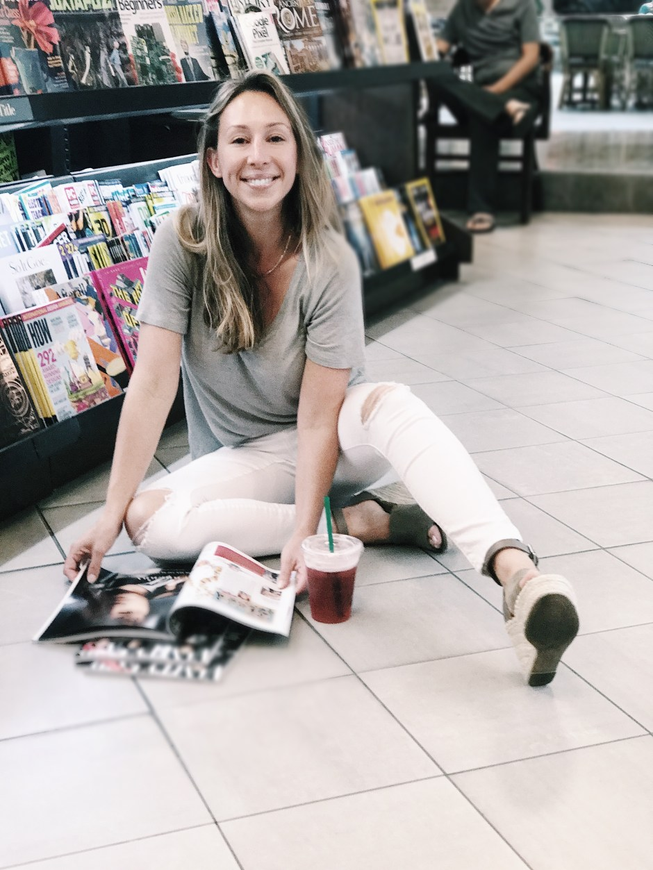 on rituals and coffee with barnes and noble