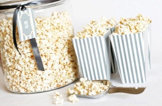 One Charming Party Free Printable Popcorn Boxes 36 \u2013 Bespoke-Bride