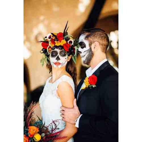 Sunshiny Day Dead Halloween Wedding Ideas 32 Halloween Wedding Cake ...