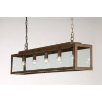 Rustic Drop Down Ceiling Pendant Light for Over Table or ...