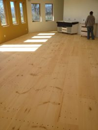 Wide Plank Pine Flooring - Solid or Engineered - E D ...