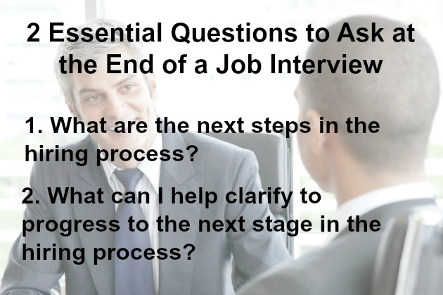Questions to Ask the Interviewer - questions to ask at job interview