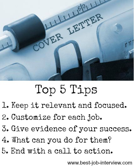 Create a Cover Letter that Works - cover letter tips