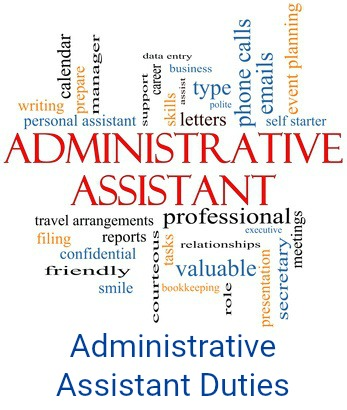 Administrative Assistant Duties - administrative assistant
