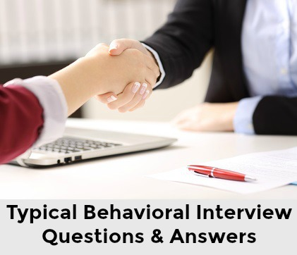 Behavioral Interview Questions and Best Answers