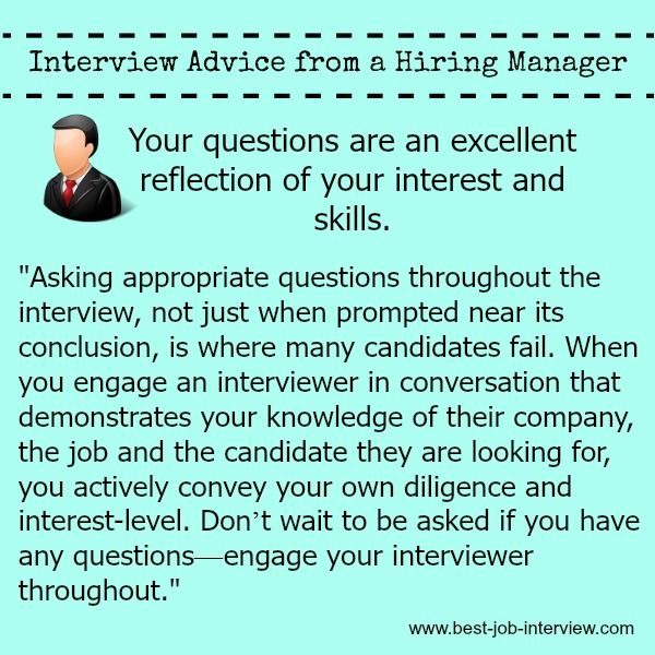 questions to ask in job interview - Alannoscrapleftbehind
