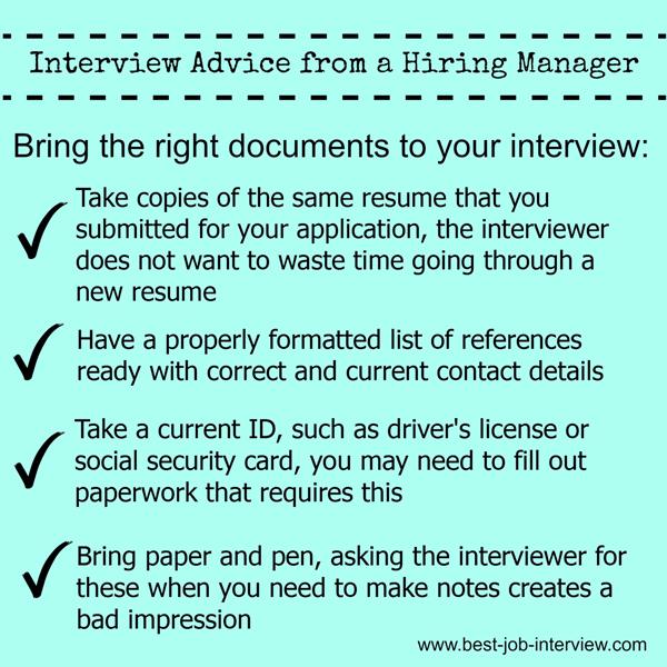 Perfect Your Job Interview Technique