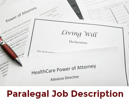 Paralegal Job Description - paralegal duties and responsibilities