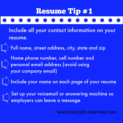 Powerful Resume Building Tips