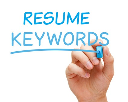 The Right Resume Keywords - key words for resume