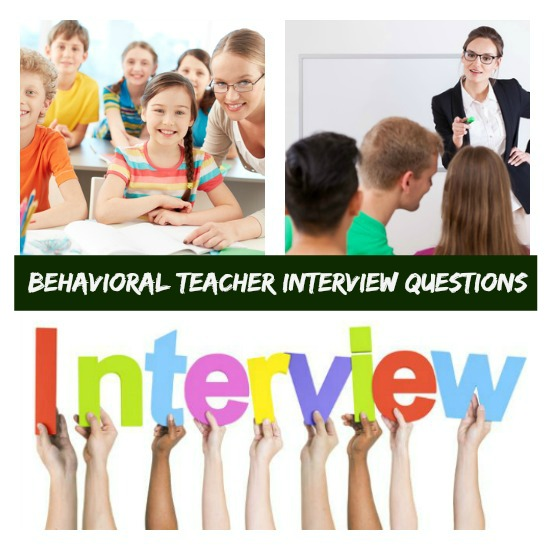 Competency-Based Interview Questions for Teachers - interview questions for teachers