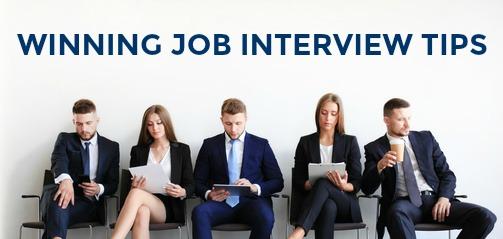 Winning Job Interview Tips