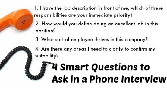 Prepare for Phone Interview Questions - customer service interview questions