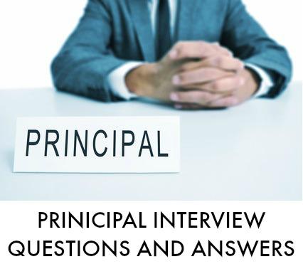 Principal Interview Questions