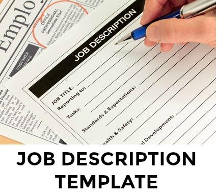 Easy-to-Use Job Description Template
