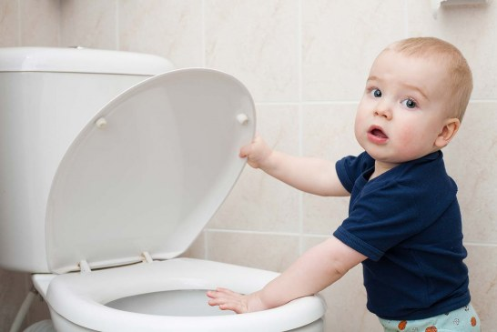 Millions of mobiles dropped in the loo by under-10s