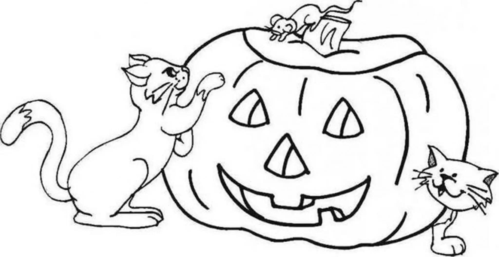 Fall Pumpkin Coloring Pages - Democraciaejustica