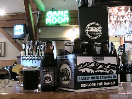 Barley Creek Brewing Company Angler Black Lager