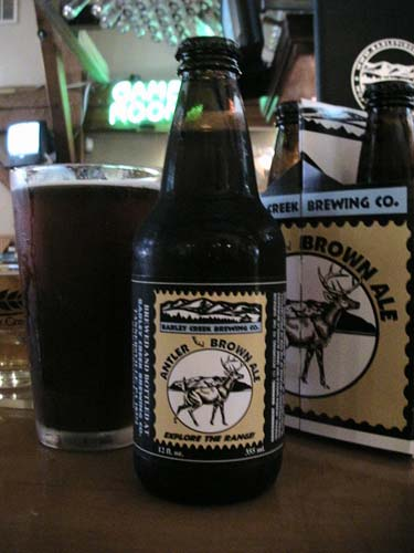 Barley Creek Brewing Company Antler Brown Ale