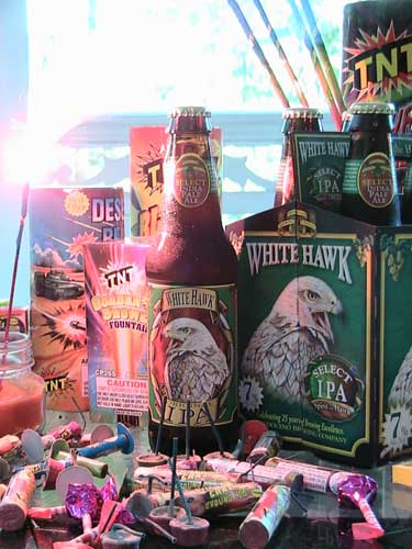 White Hawk IPA - Mendocino Brewing Company White Hawk Select IPA
