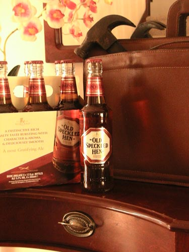 Old Speckled Hen Beer