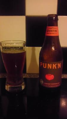 Uinta Brewing PUNK'N Harvest Pumpkin Ale