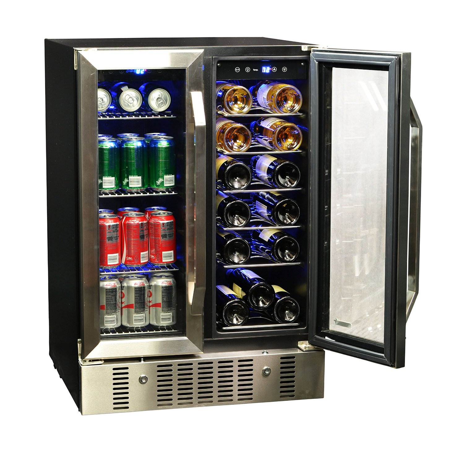 Wine Refrigerator Reviews >> Wine and Beer Fridge - Top 5 - Best Beer Refrigerator