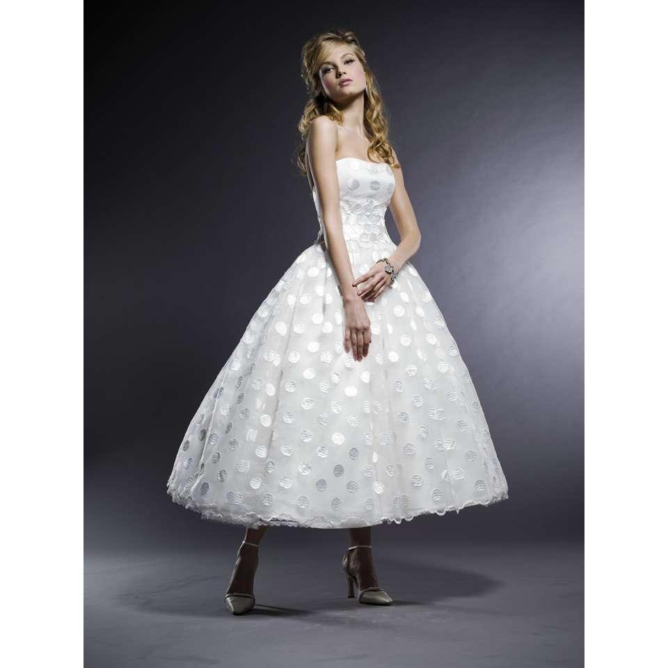 tea length 50 s inspired wedding dresses 50s style wedding dresses Tea Length 50 S Inspired Wedding Dresses 40